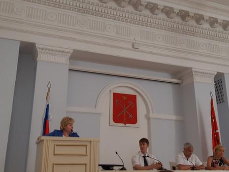 Состоялись публичные слушания в администрации Калининского района Санкт-Петербурга