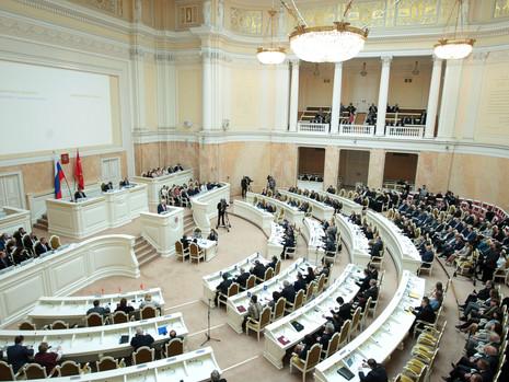 Отчет пресс-службы о заседании Законодательного Собрания СПб 31 мая 2019 года
