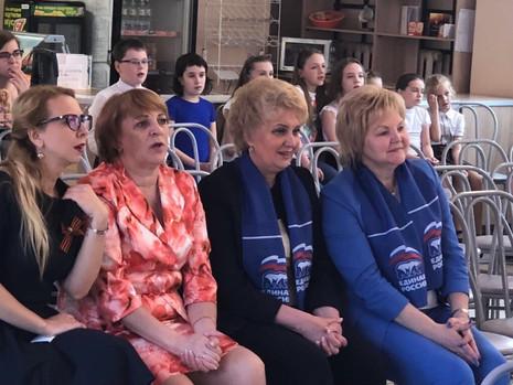В гимназии № 192 состоялось праздничное мероприятие, посвященное Дню Победы
