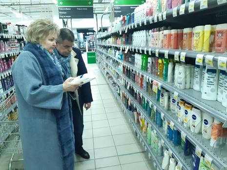 Мониторинг наличия продуктов питания и предметов первой необходимости в магазинах Санкт-Петербурга