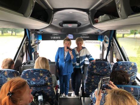 Жители МО Пискаревка отправились на экскурсию в Великий Новгород