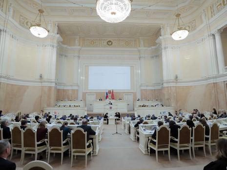Отчет пресс-службы о заседании Законодательного Собрания СПб 30 сентября 2020 года