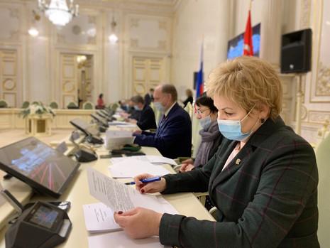 Заседание комитета по законодательству, 29 января