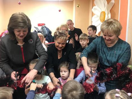 Открытие Центра социальной помощи семье и детям
