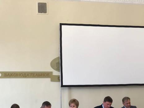 Состоялось заседание комиссии по вопросам правопорядка и законности
