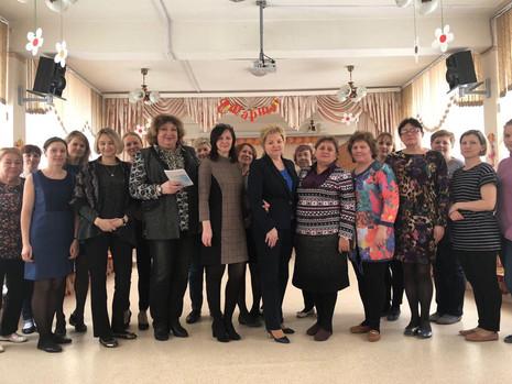 26 февраля 2018 года состоялась встреча с трудовым коллективом Детского сада № 41 Калининского район