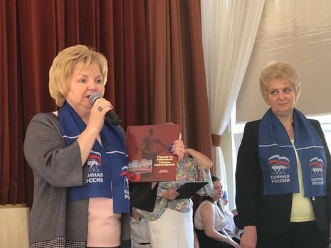 В школах № 100 и 184 Калининского района состоялись торжественные мероприятия к Дню Победы