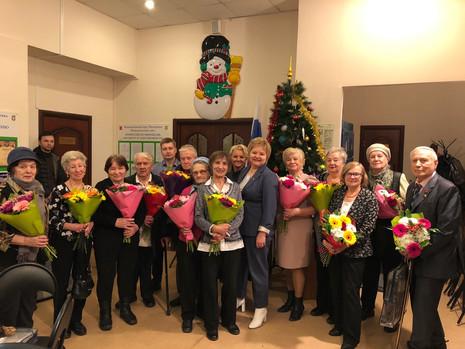 В муниципальном образовании Пискаревка поздравили юбиляров