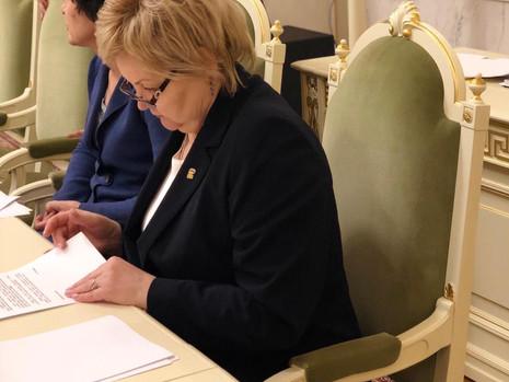 Заседание комитета по законодательству, 29 ноября