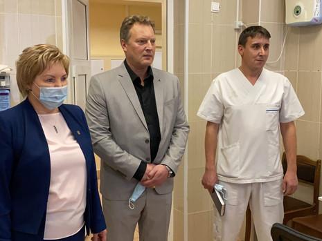 Сергеева оказала содействие в закупке оборудования для поликлиники № 54