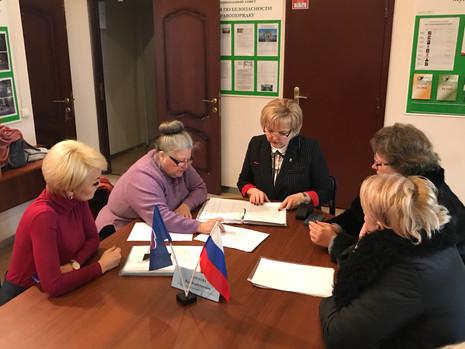 Прием граждан в Калининском районе