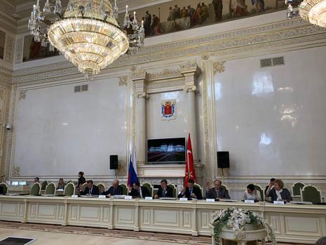 Заседание комитета по законодательству