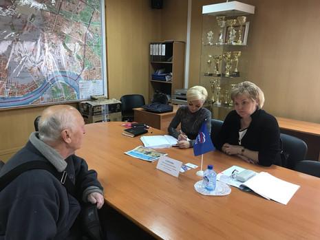 Приёмы граждан в Калининском районе