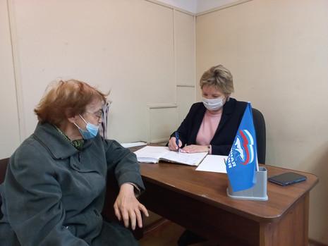 Итоги приёма граждан в МО Полюстрово