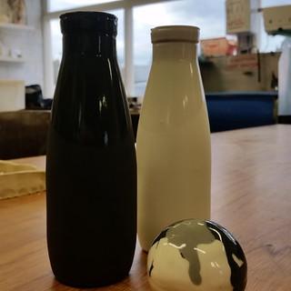 Glazed bottles