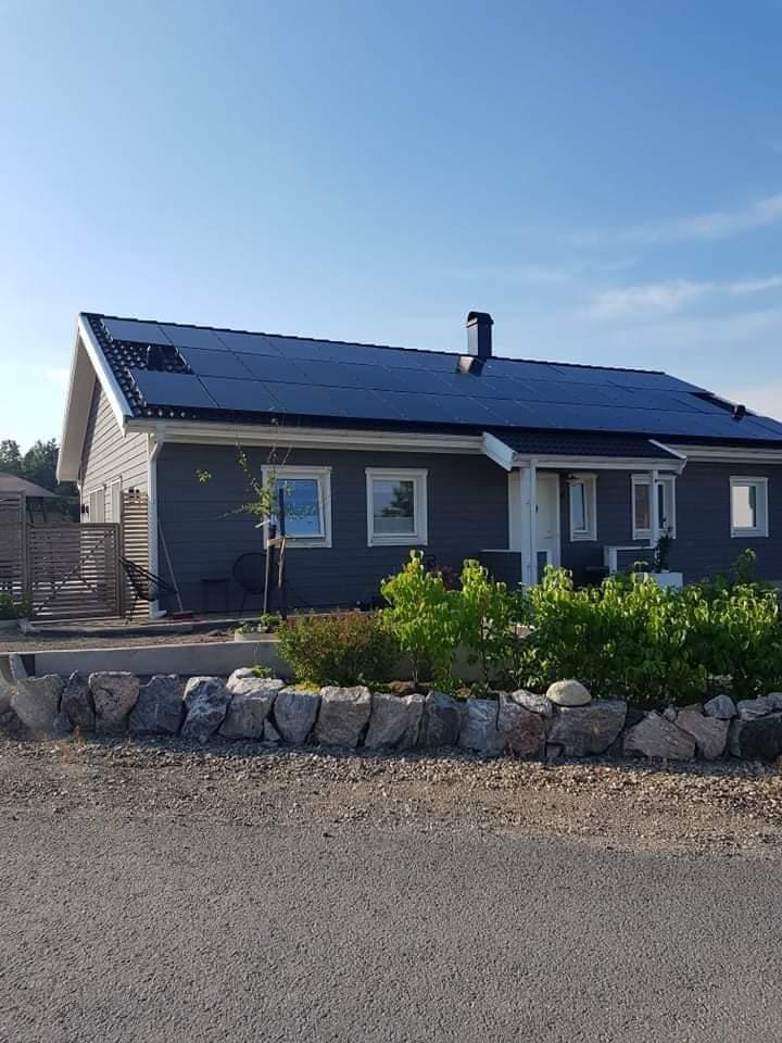 Solceller 15kW villa i Järna