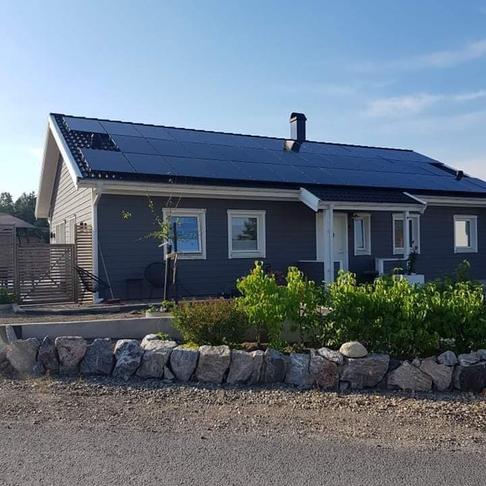 Solceller Villa 15kW, Järna