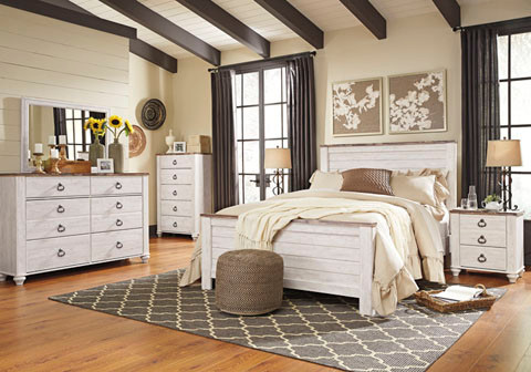 Willowton bedroom group
