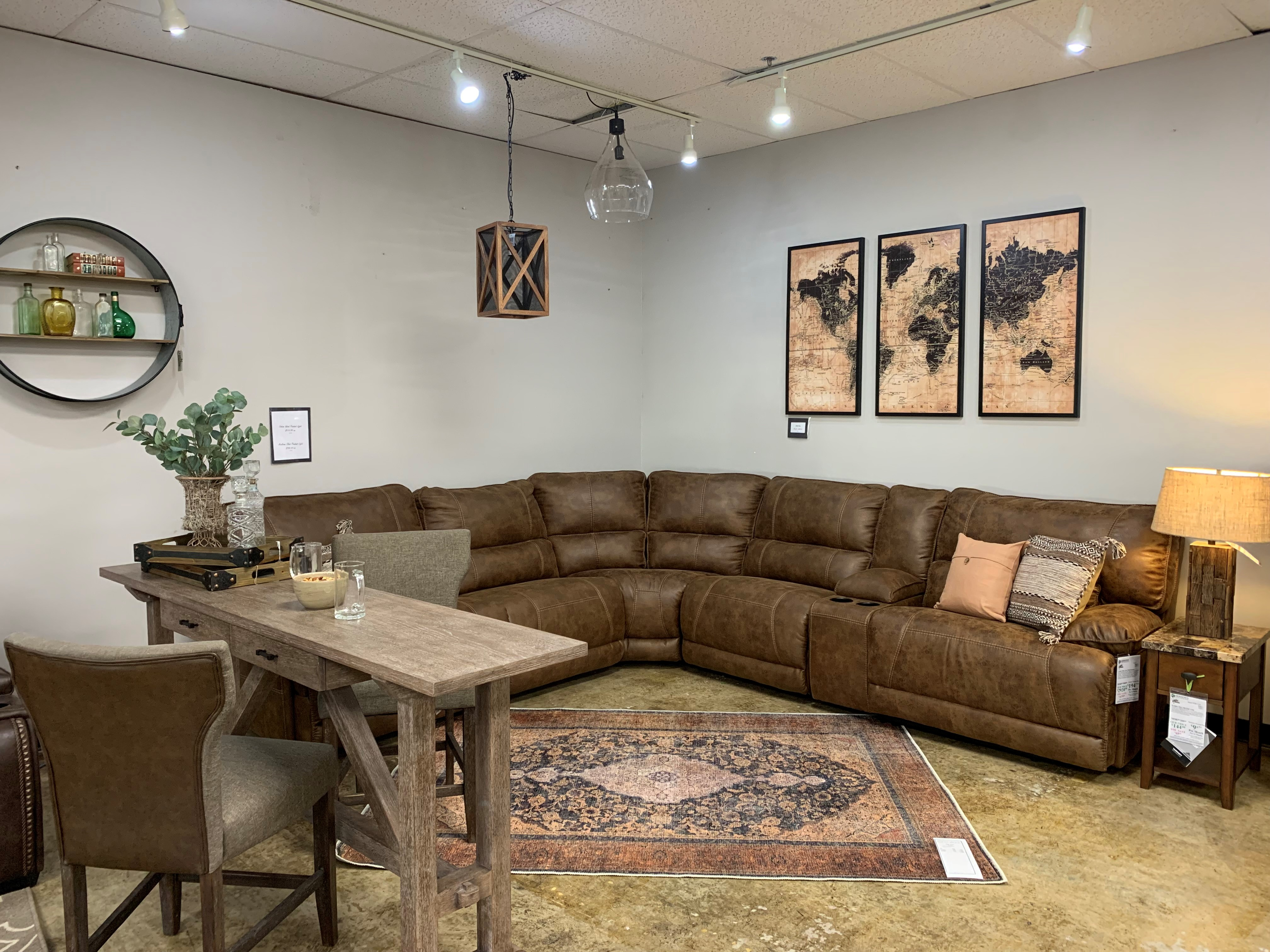 FV Sectional Man Cave