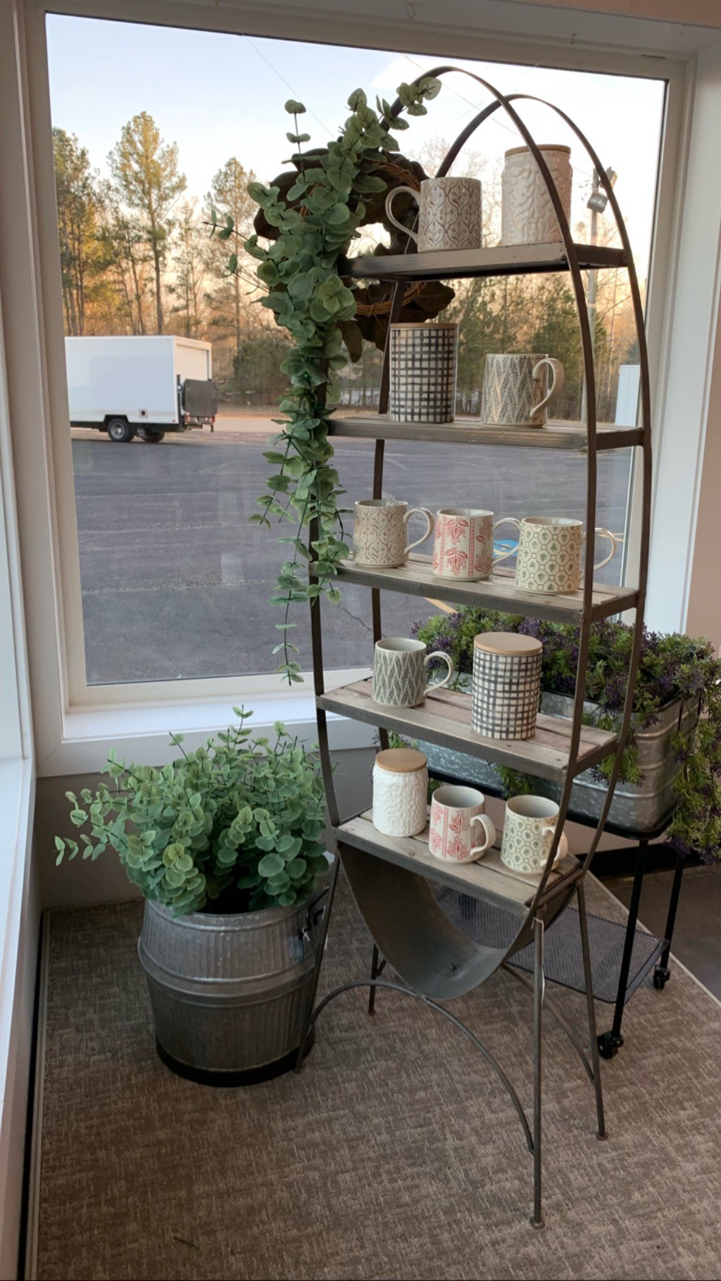 Garden Window Display