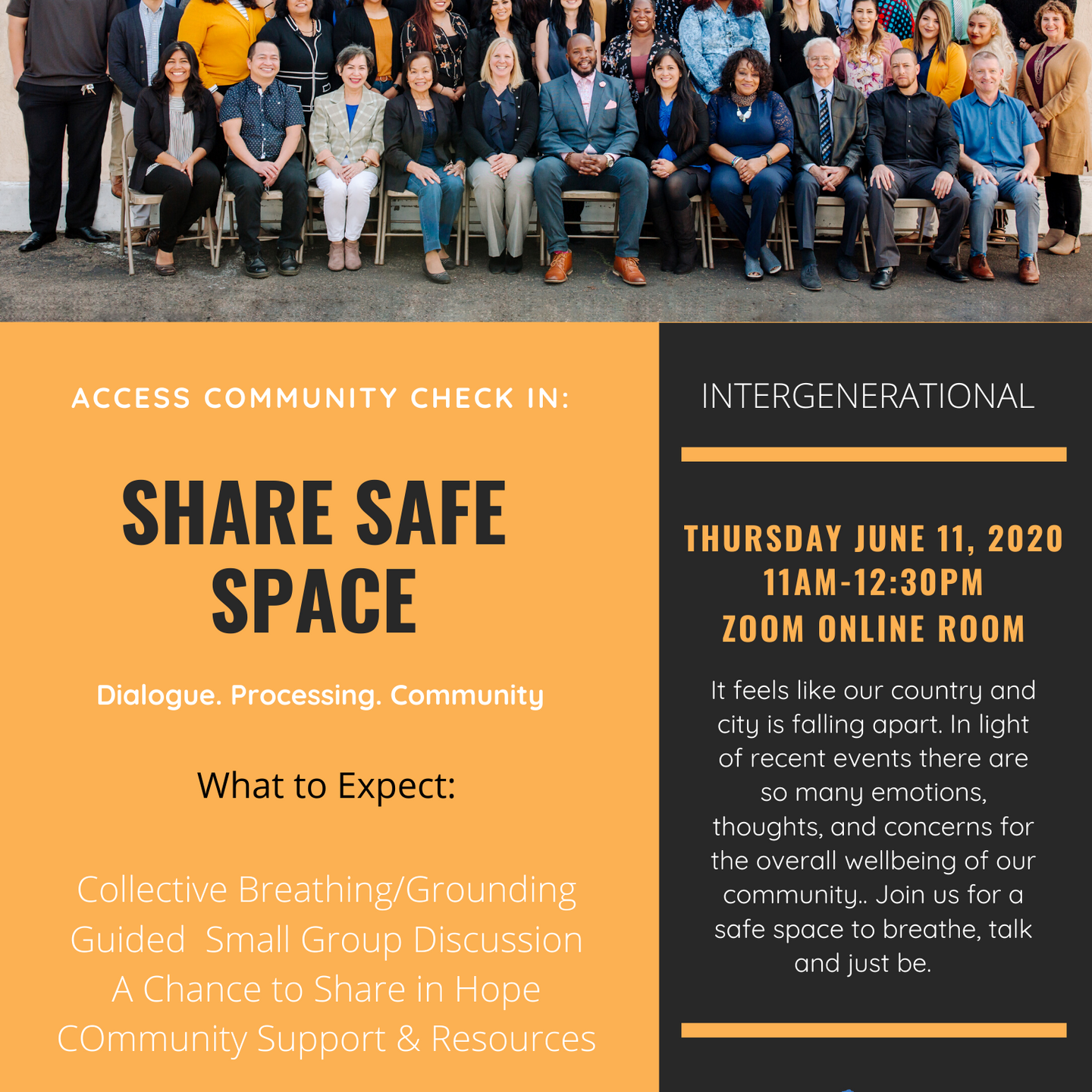 Share Safe Space