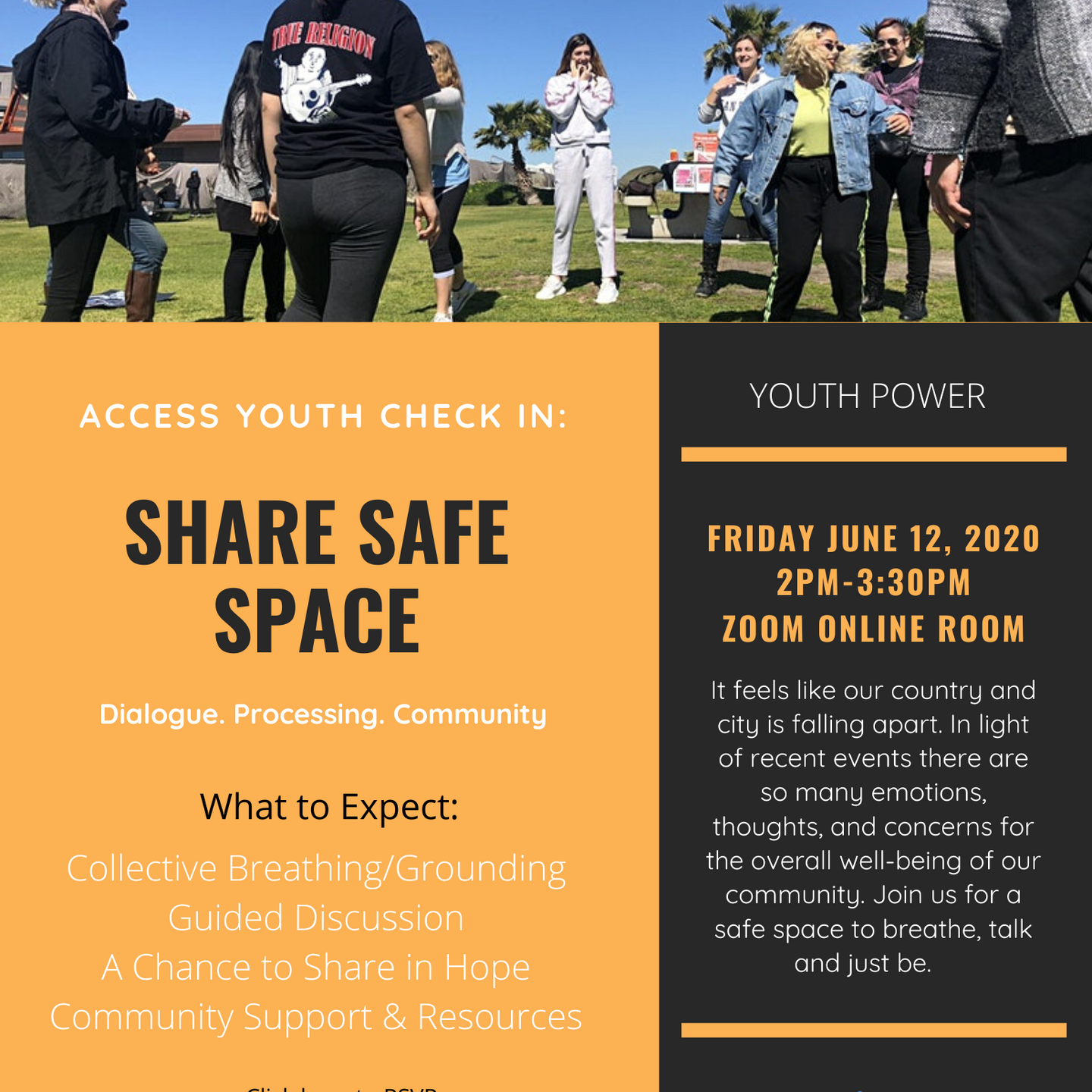 Share Safe Space w/ Access