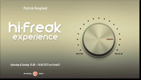 Hi-Freak Experience - Patrick Hoogland
