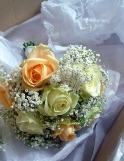 Bridesmaids Rose & Gyp Posy