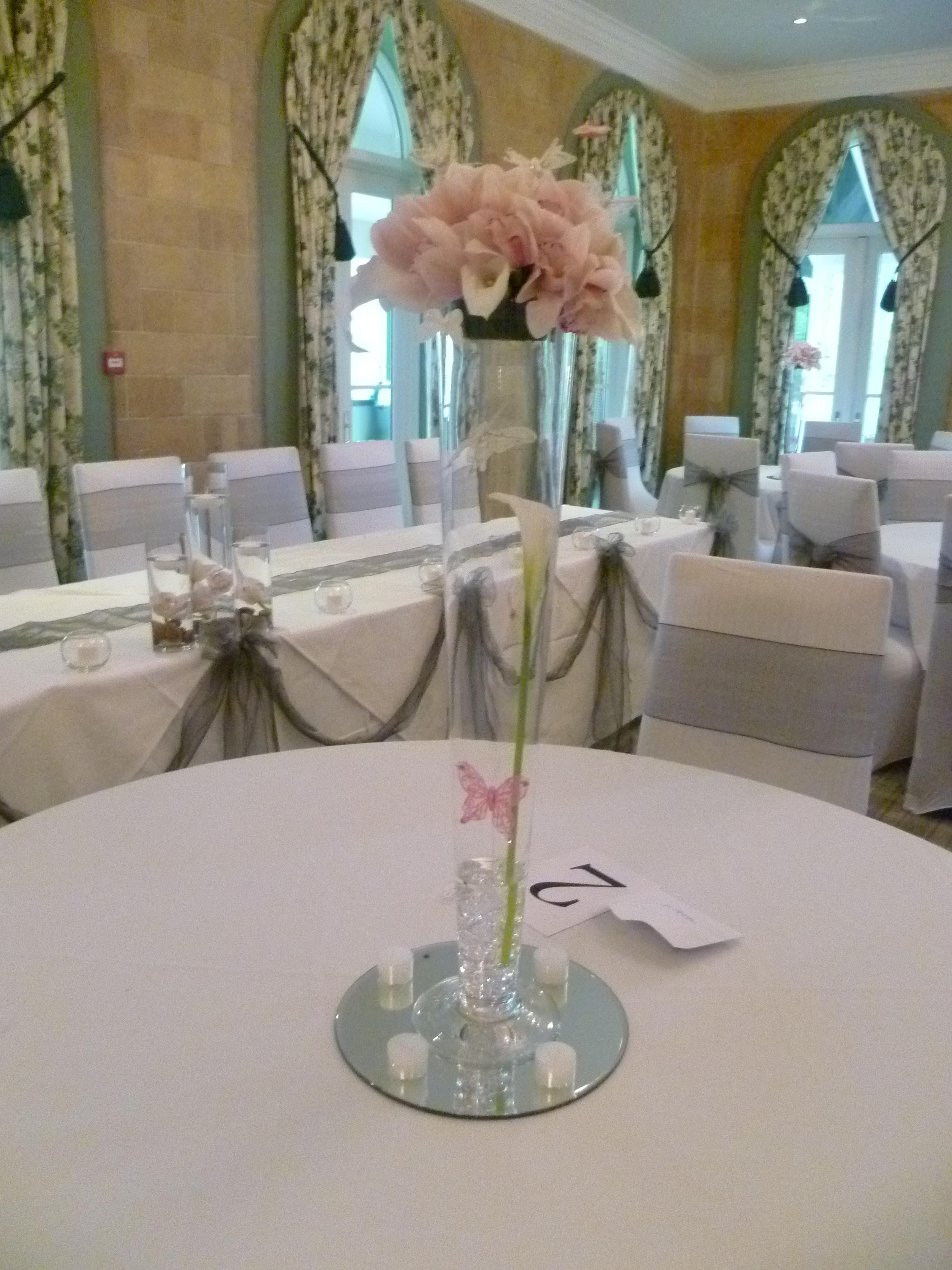 Orchid Cone Vase