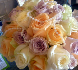 Brides Roses and Pearls