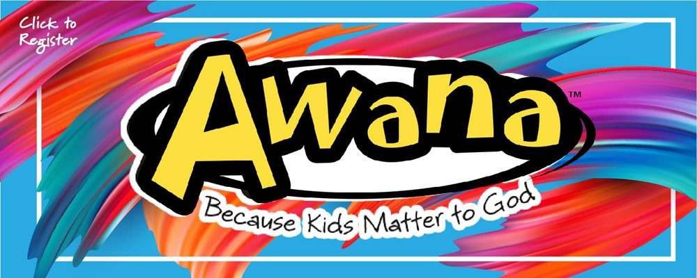 Register your children for Awana!