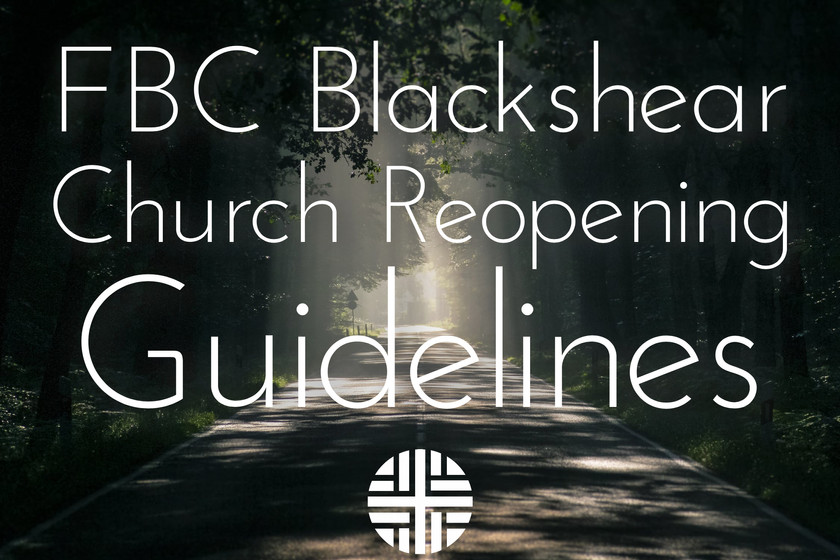 Church Reopening Guidelines