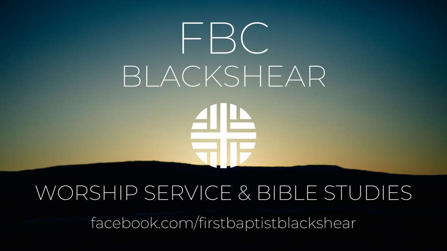 Worship Service & Bible Studies
