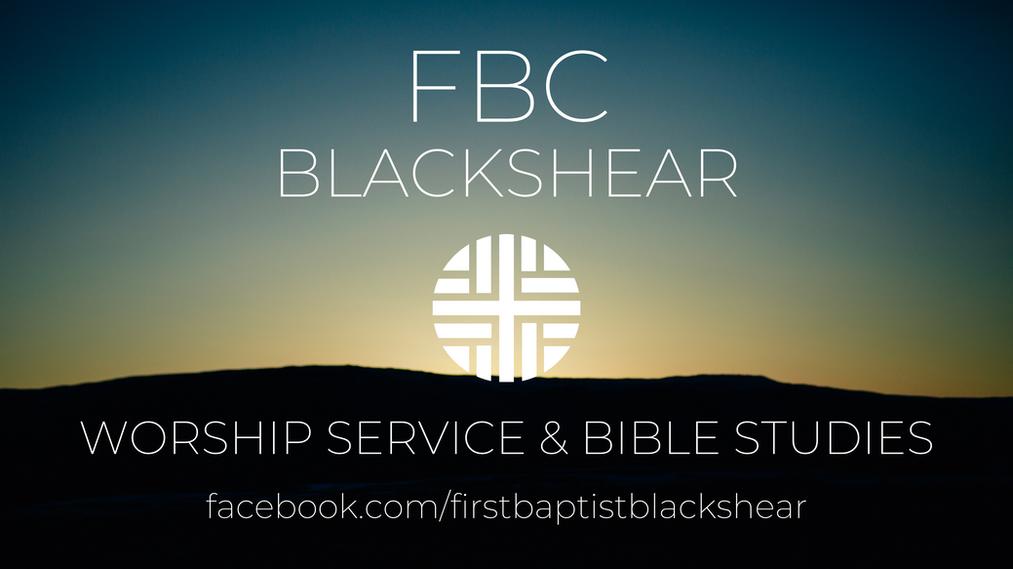 Worship Service & Bible Studies