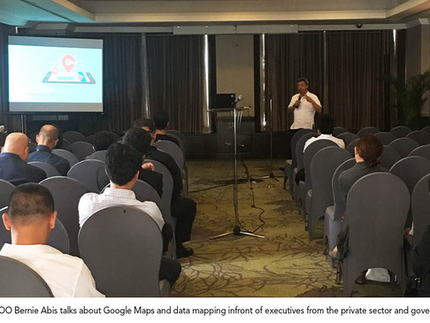 WTI talks about Google Maps at DICT project launch event