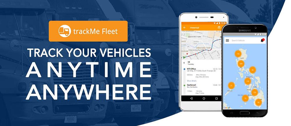 trackMe Fleet Mobile App