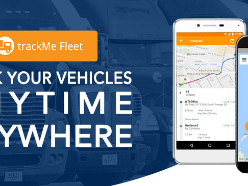 Your vehicles now in your pocket- the new trackMe Fleet App for Android is now available!