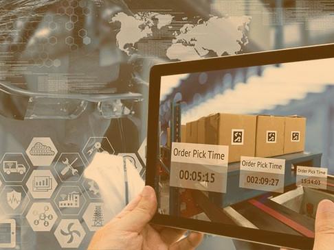 Contactless Logistics through Digital Transformation