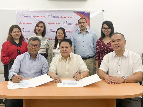 DLTB Co. signs a partnership deal with Webcast Technologies Inc.