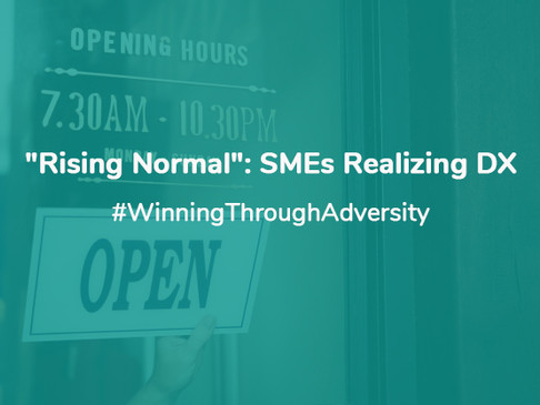 """Rising Normal"" SMEs Realizing DX"