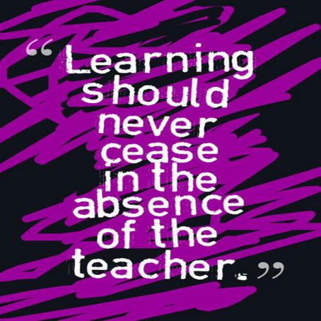 Absent? Learning Doesn't Have to Be