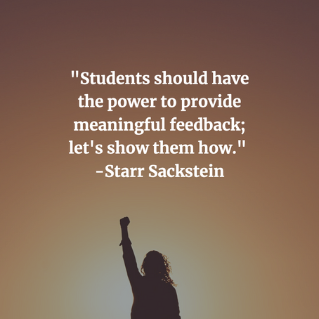 Empowering Students to Provide Peer Feedback