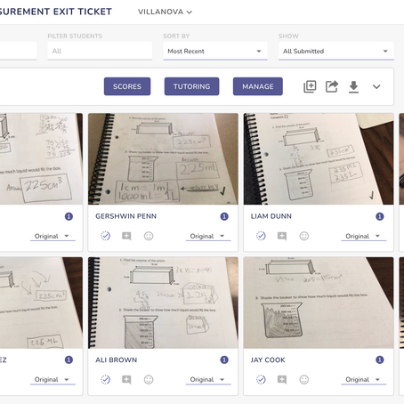 Capture Authentic Student Work with EdLight