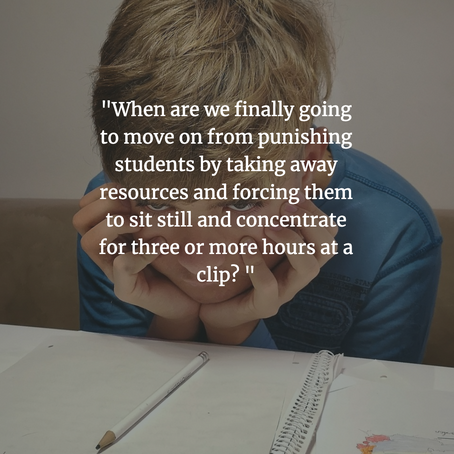 Testing: An Unfortunate Roadblock in Student Learning