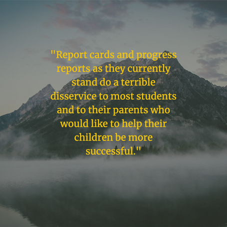 Student Voice Should Determine Progress Report Grades