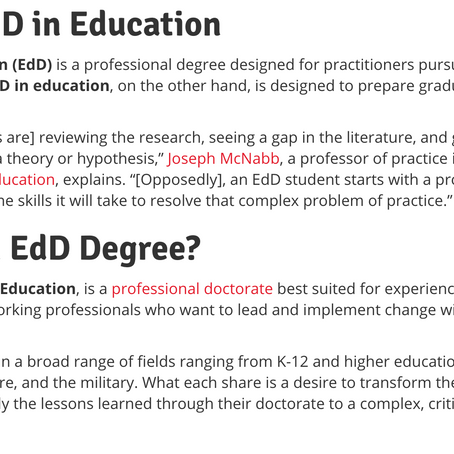 EdD or PhD? How Do You Know Which to Pick?