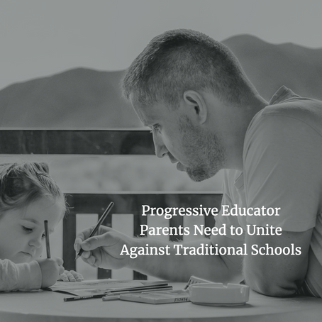 It's a Struggle to be a Progressive Educator Whose Child Goes to a Traditional High School