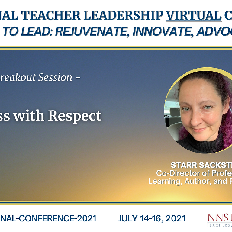 NNSTOY Virtual Teacher Leadership Conference 2021.