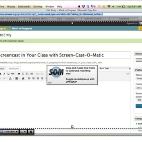 Screencast-o-Matic Makes Creating Tutorials Easy