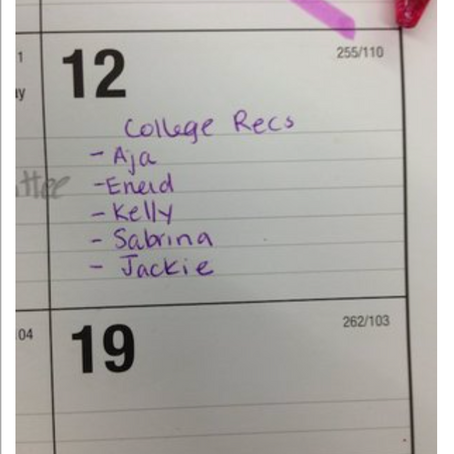 Balancing School Roles Is All About Your Desk Calendar